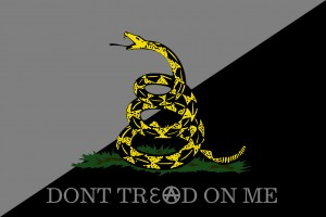 Agorism - Don't Tread on Me Gadsden variant