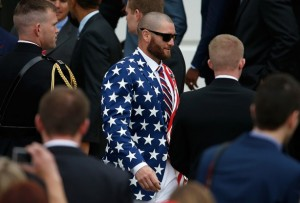 Jonny Gomes Suit and Tie