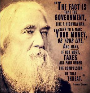 spooner taxation