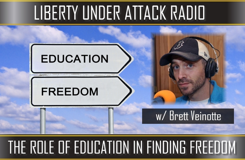 The Role of Education in Finding Freedom with Brett Veinotte (LUA Podcast #100)